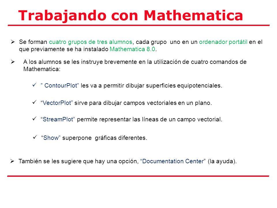 Trabajando con Mathematica