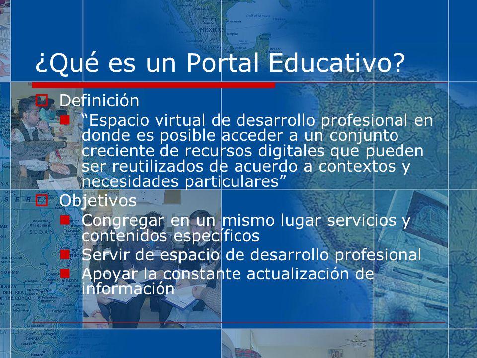 ¿Qué es un Portal Educativo
