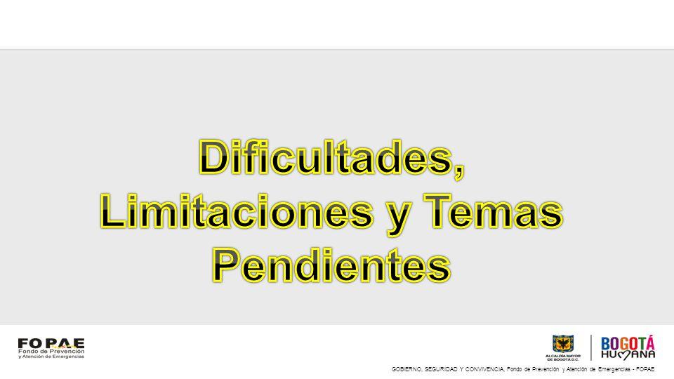 Dificultades, Limitaciones y Temas Pendientes