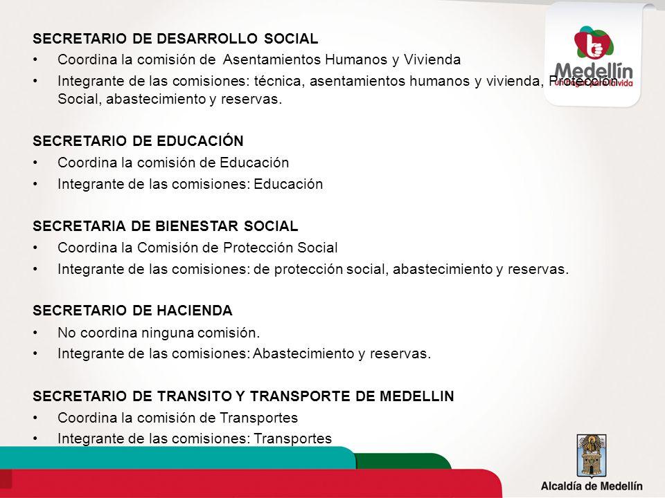 SECRETARIO DE DESARROLLO SOCIAL