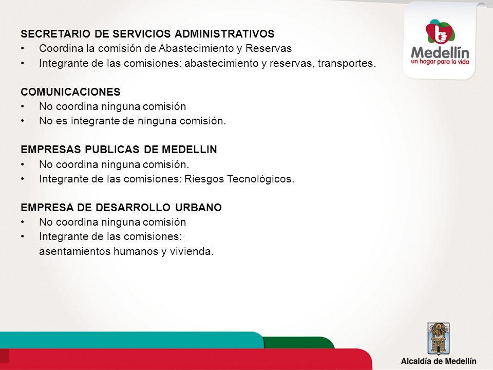 SECRETARIO DE SERVICIOS ADMINISTRATIVOS