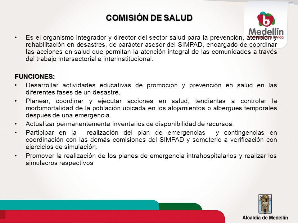 COMISIÓN DE SALUD