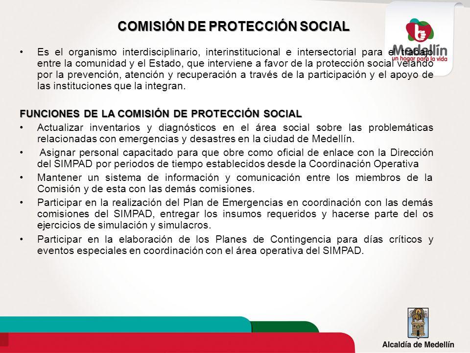 COMISIÓN DE PROTECCIÓN SOCIAL
