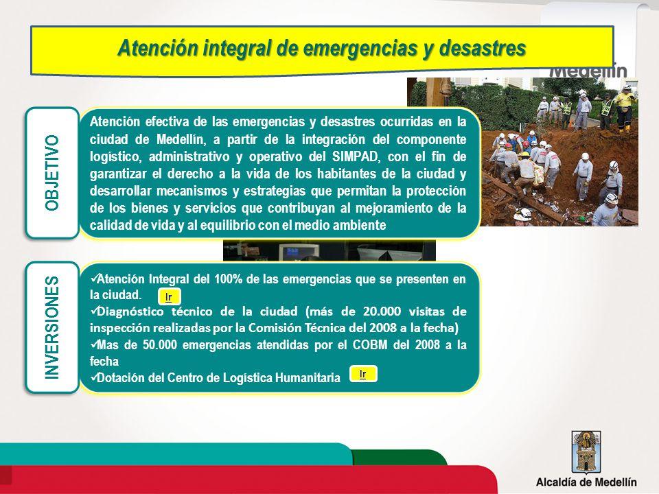Atención integral de emergencias y desastres
