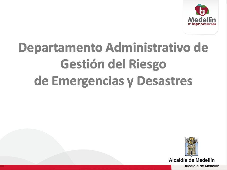 Departamento Administrativo de Gestión del Riesgo