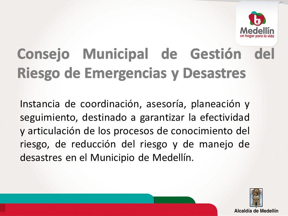 Consejo Municipal de Gestión del Riesgo de Emergencias y Desastres