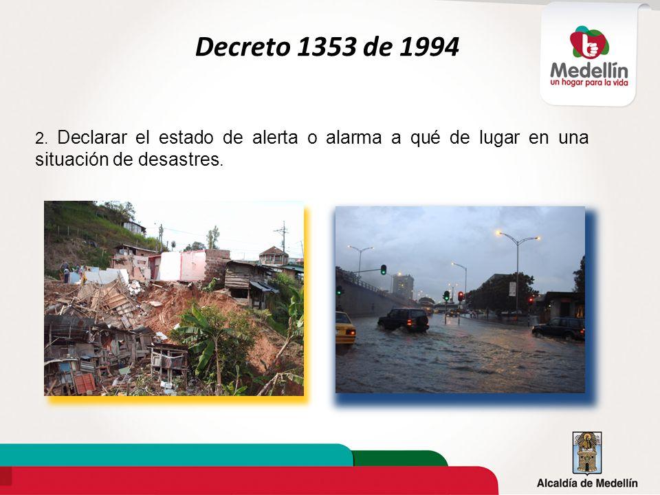 Decreto 1353 de 1994 2.