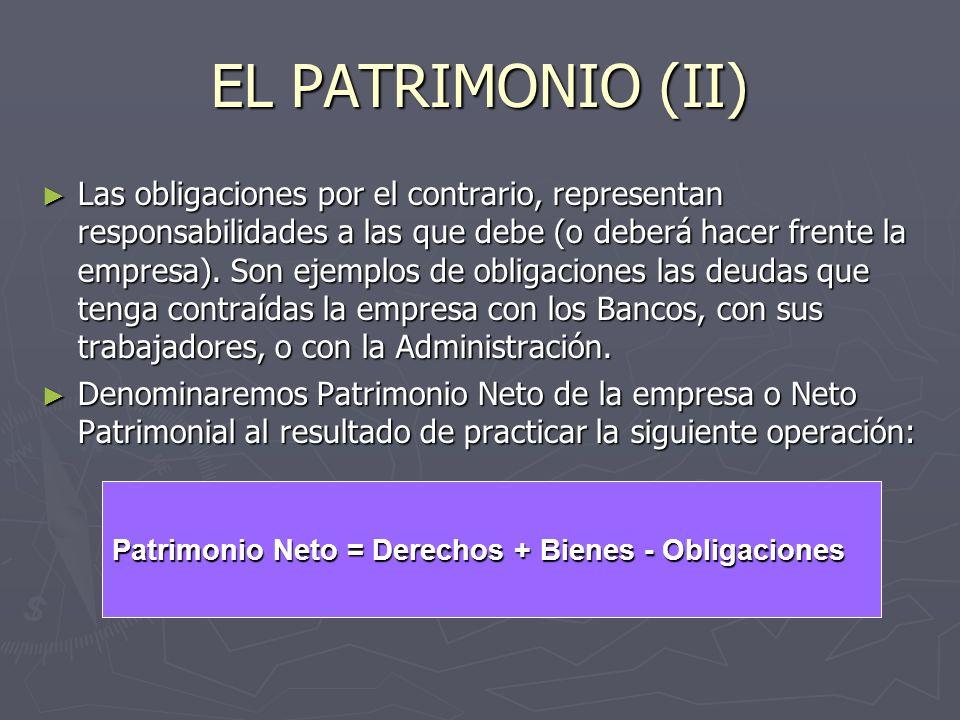 EL PATRIMONIO (II)