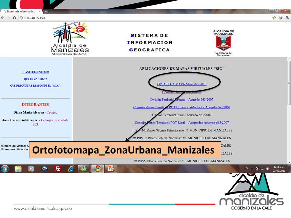 Ortofotomapa_ZonaUrbana_Manizales