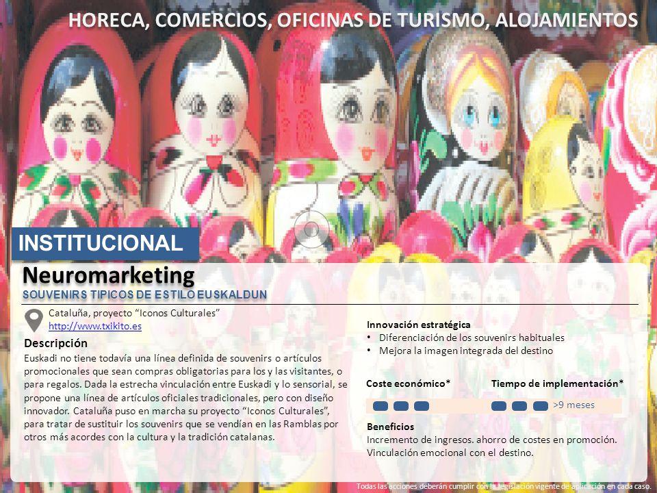 HORECA, COMERCIOS, OFICINAS DE TURISMO, ALOJAMIENTOS