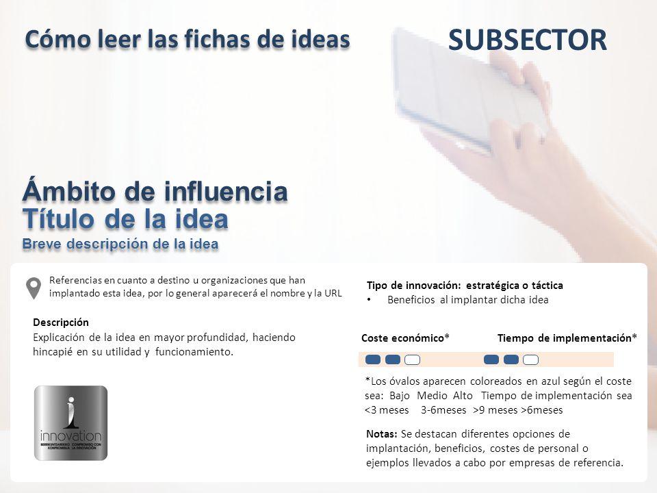 Cómo leer las fichas de ideas