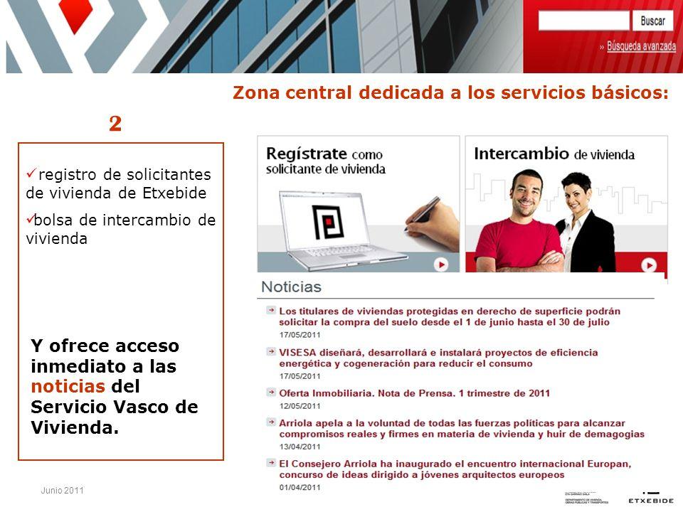 2 Zona central dedicada a los servicios básicos: