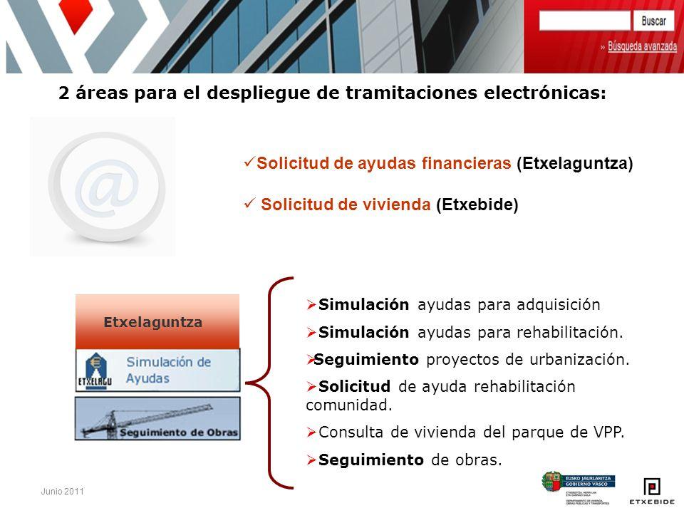 2 áreas para el despliegue de tramitaciones electrónicas: