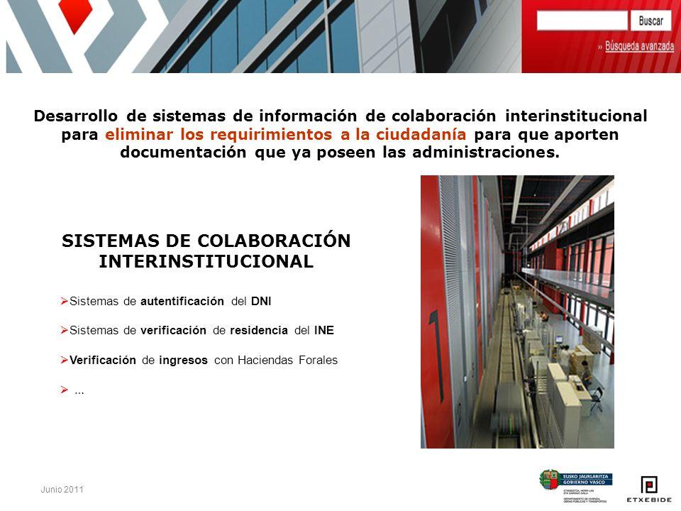 SISTEMAS DE COLABORACIÓN INTERINSTITUCIONAL