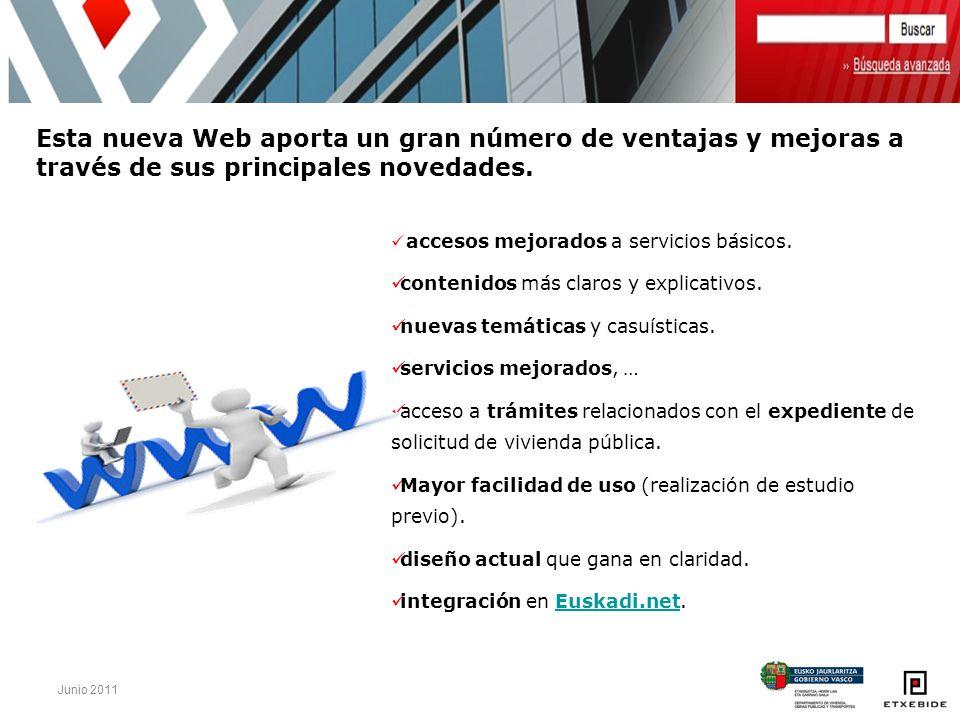 Esta nueva Web aporta un gran número de ventajas y mejoras a través de sus principales novedades.