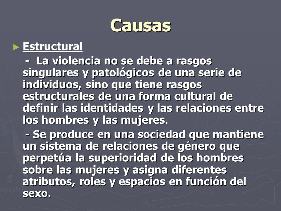 Causas Estructural.