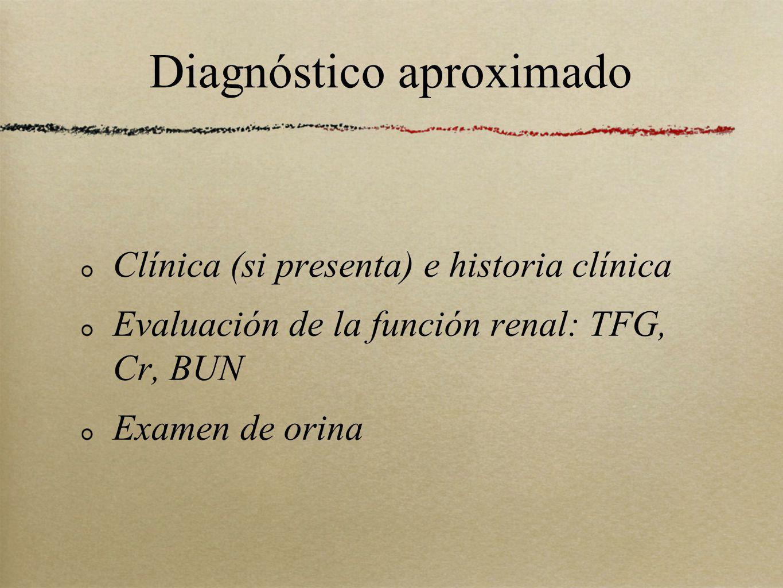 Diagnóstico aproximado
