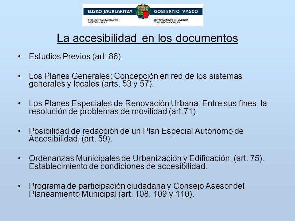 La accesibilidad en los documentos