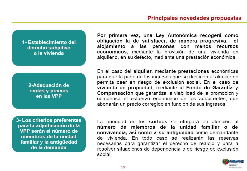 1- Establecimiento del derecho subjetivo