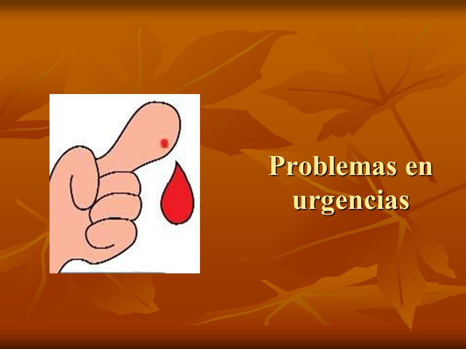 Problemas en urgencias