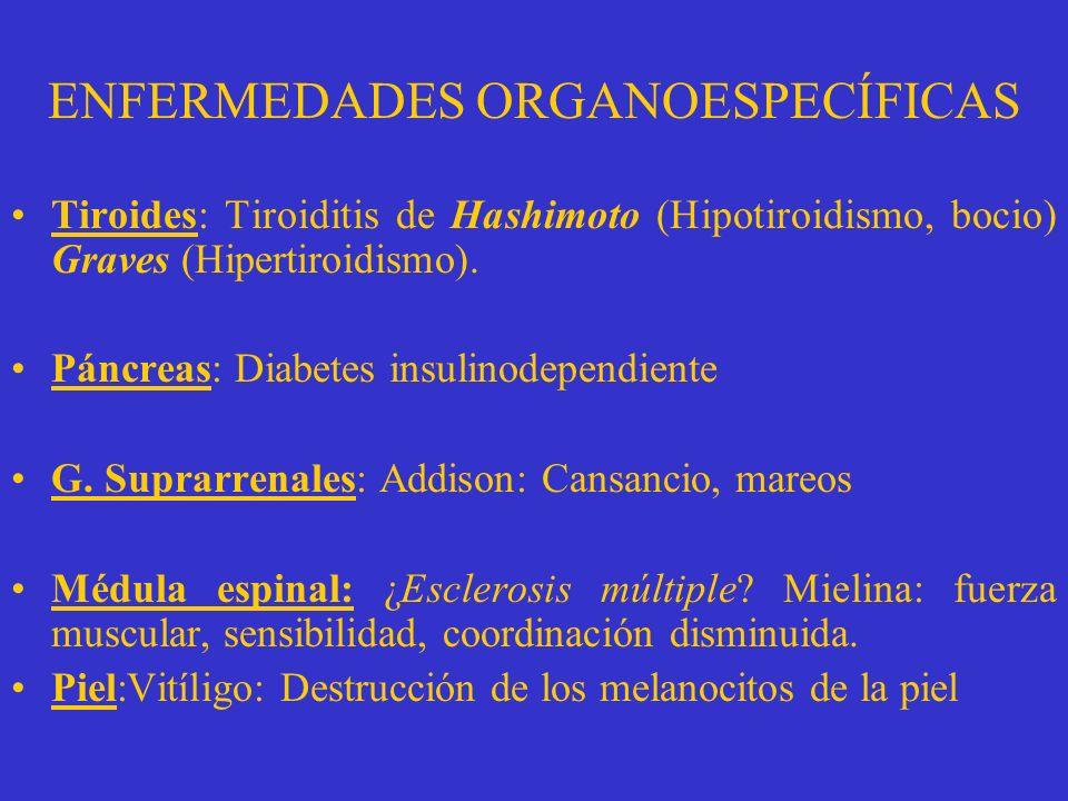 ENFERMEDADES ORGANOESPECÍFICAS