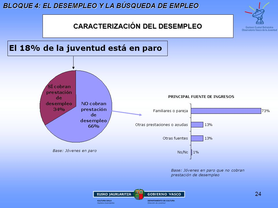 CARACTERIZACIÓN DEL DESEMPLEO