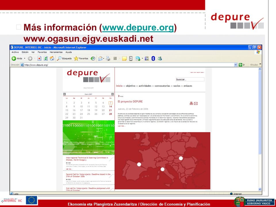 Más información (www.depure.org) www.ogasun.ejgv.euskadi.net