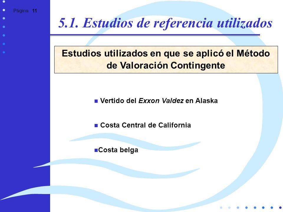 5.1. Estudios de referencia utilizados
