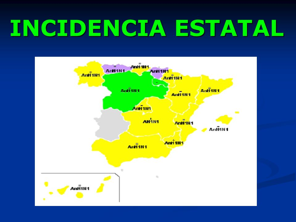 INCIDENCIA ESTATAL