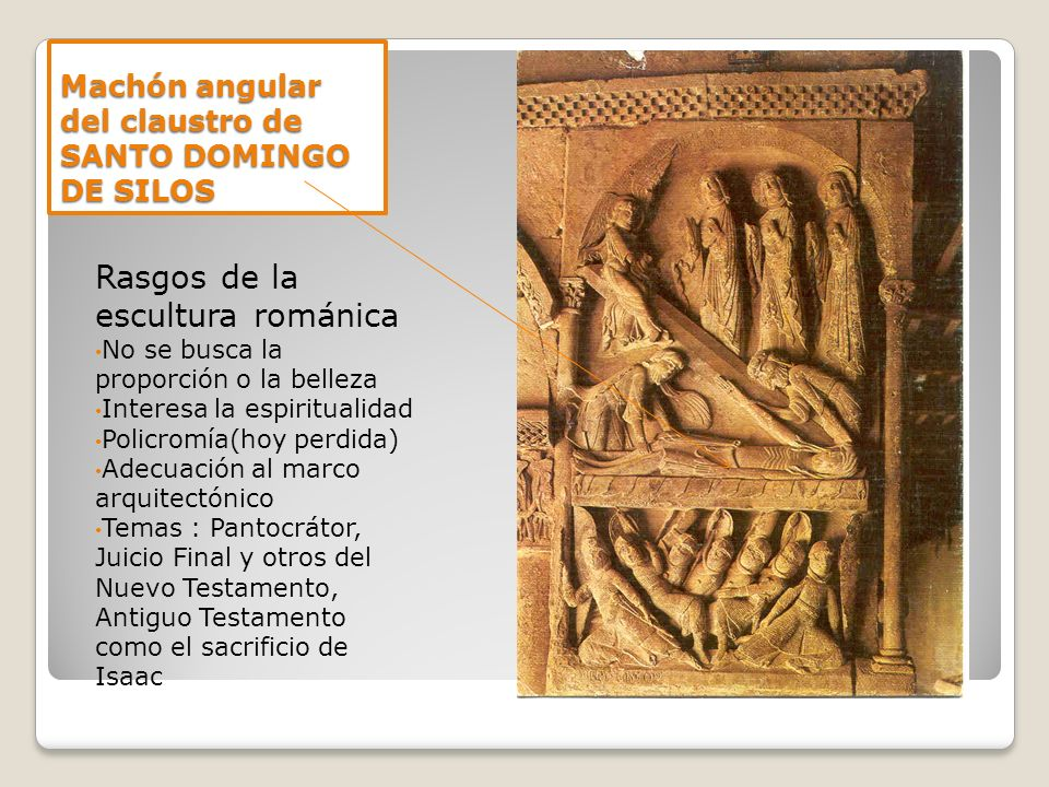 Machón angular del claustro de SANTO DOMINGO DE SILOS