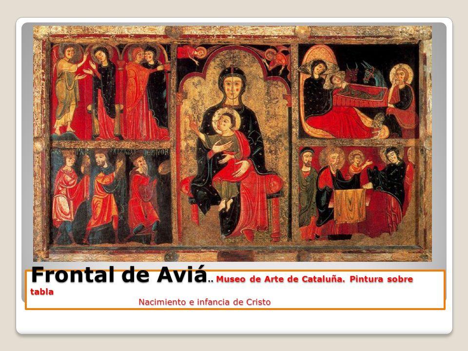 Frontal de Aviá. Museo de Arte de Cataluña