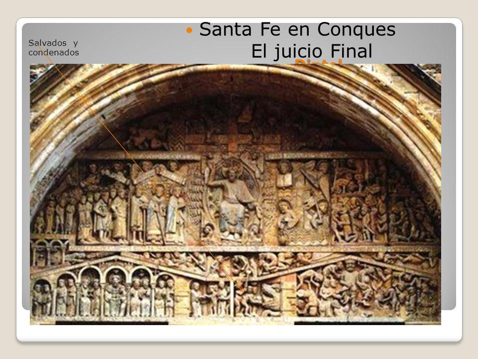 Santa Fe en Conques El juicio Final Dintel Salvados y condenados