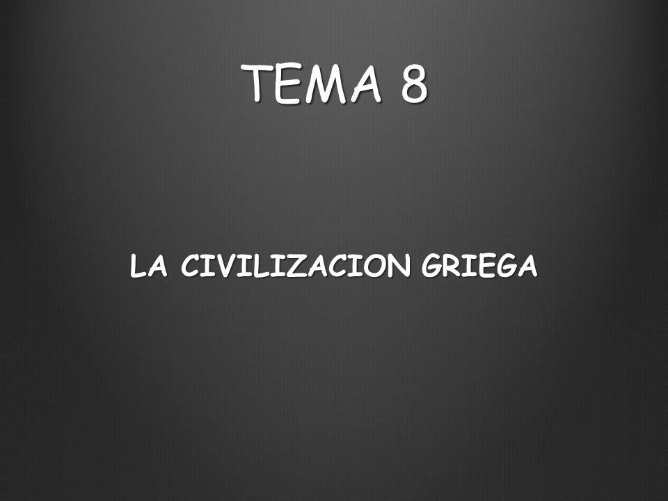 LA CIVILIZACION GRIEGA