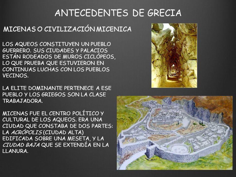 ANTECEDENTES DE GRECIA