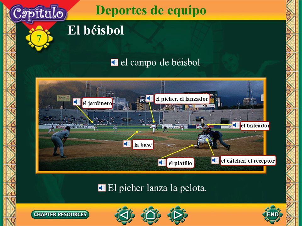 Deportes de equipo El béisbol 7 el campo de béisbol