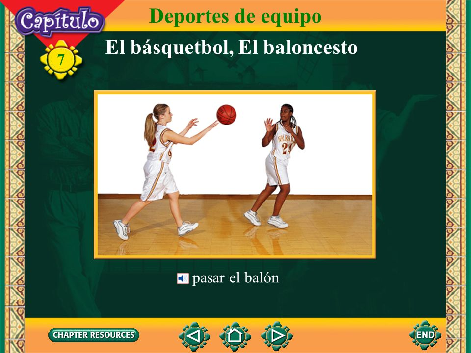 El básquetbol, El baloncesto