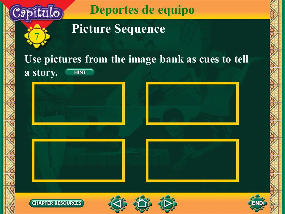Deportes de equipo Picture Sequence