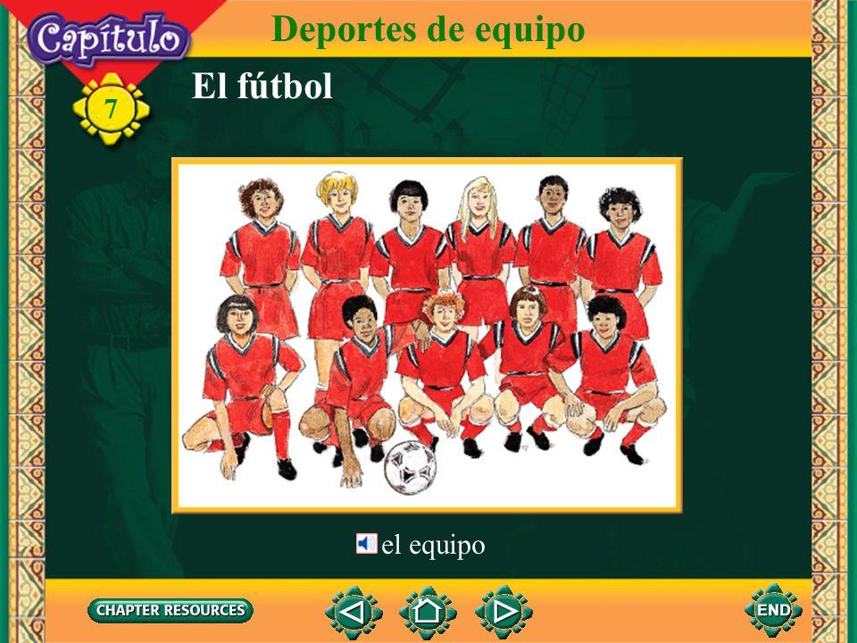 Deportes de equipo El fútbol 7 el equipo