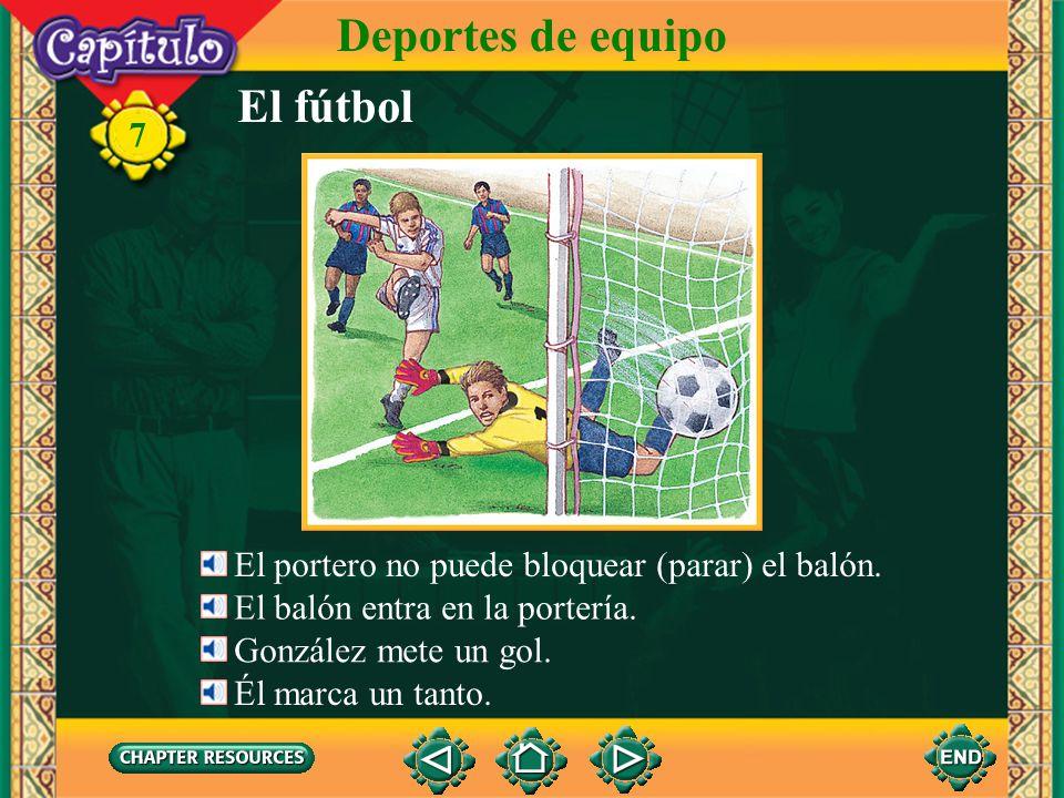 Deportes de equipo El fútbol 7