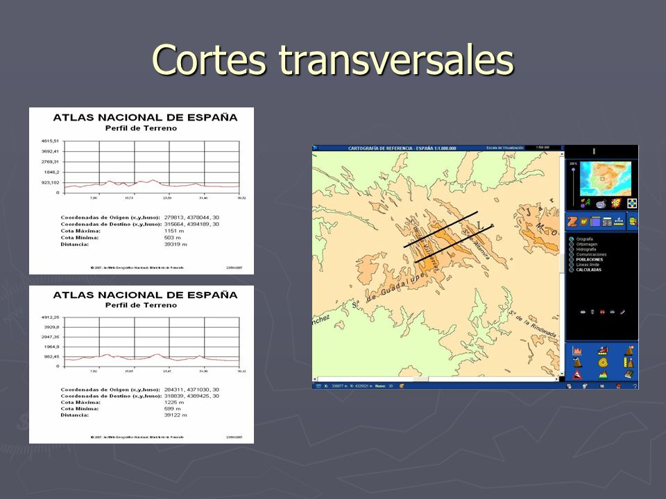 Cortes transversales