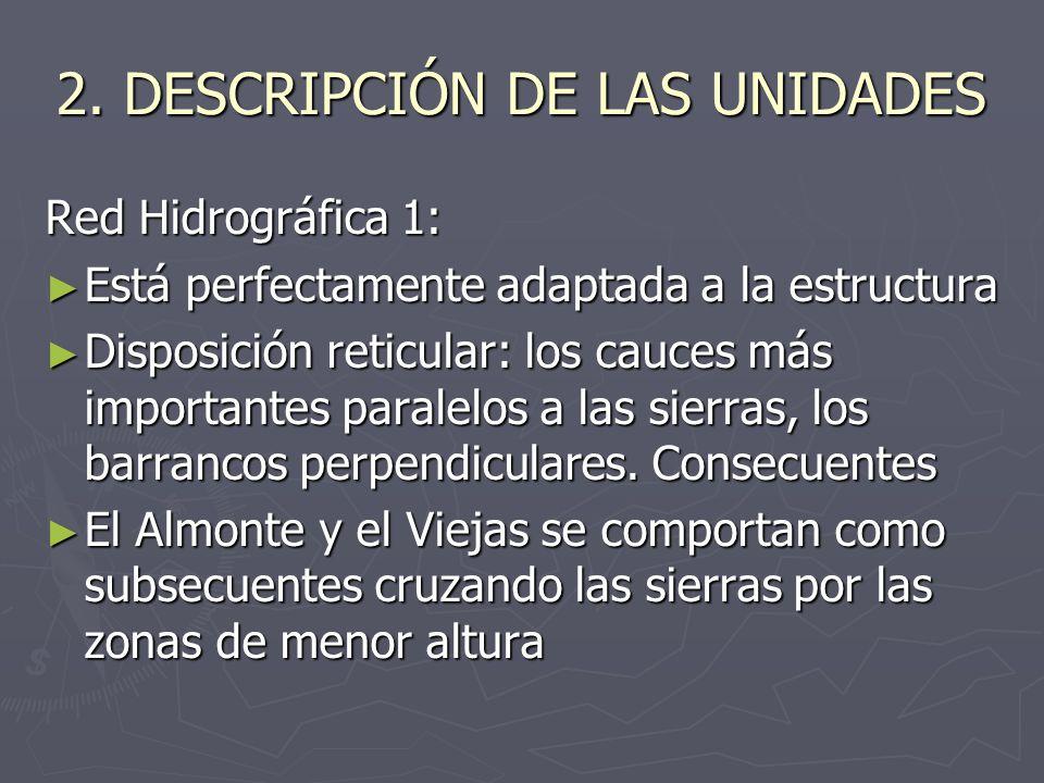 2. DESCRIPCIÓN DE LAS UNIDADES
