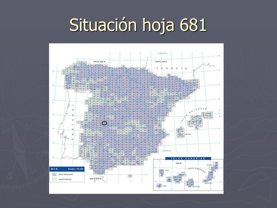 Situación hoja 681