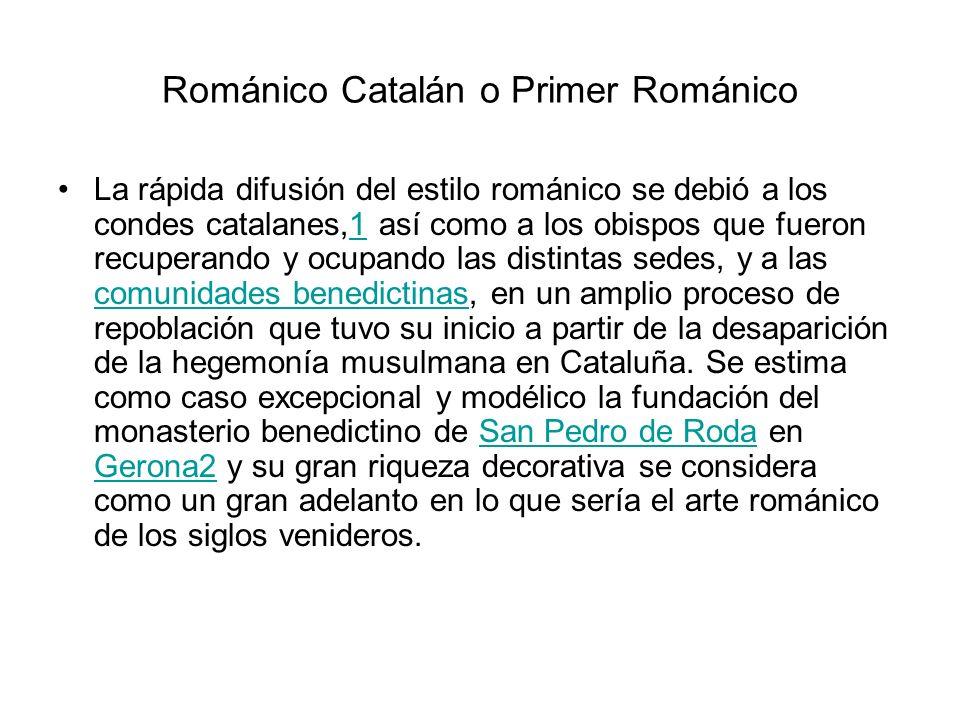 Románico Catalán o Primer Románico