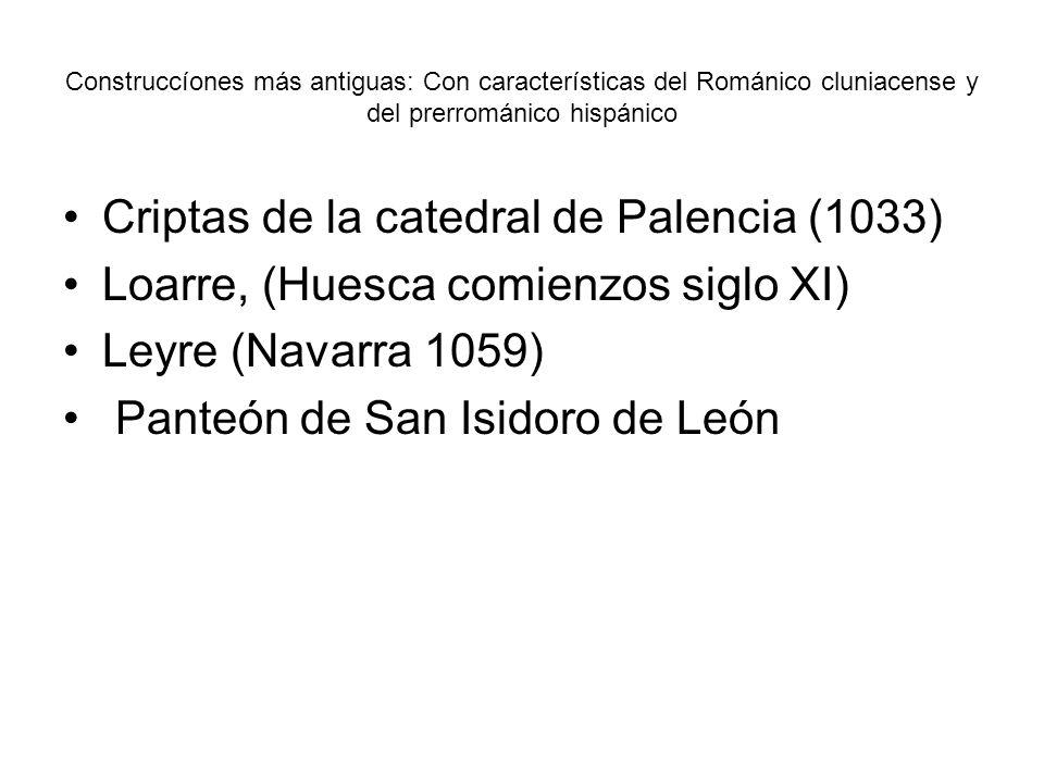 Criptas de la catedral de Palencia (1033)