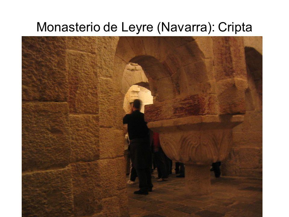 Monasterio de Leyre (Navarra): Cripta