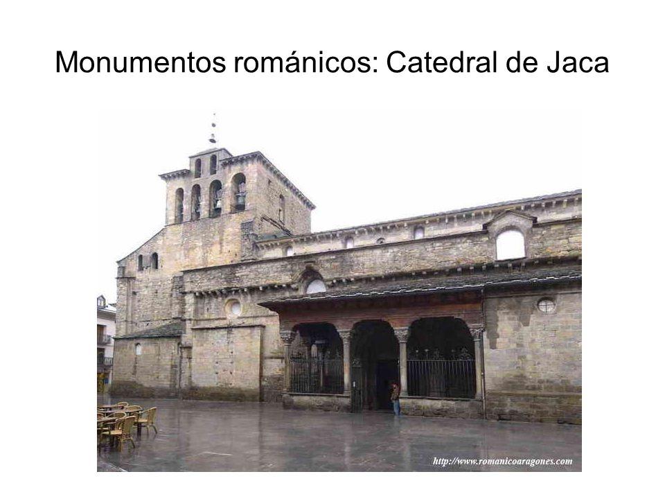 Monumentos románicos: Catedral de Jaca