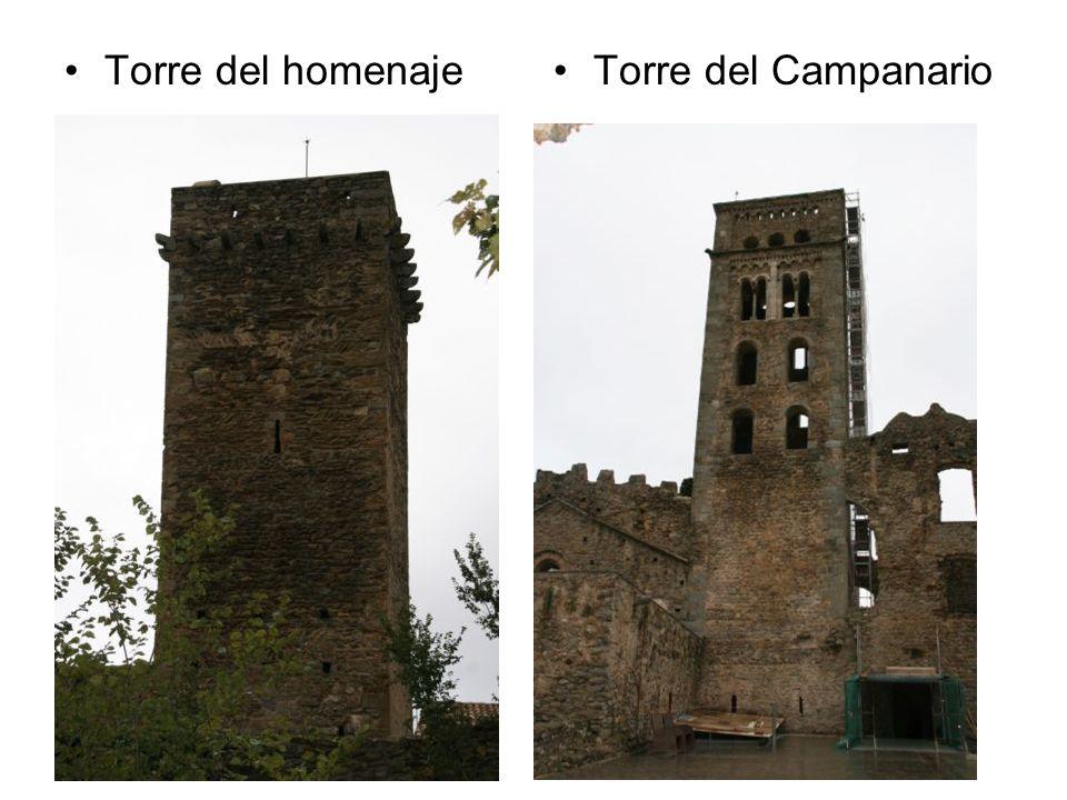 Torre del homenaje Torre del Campanario