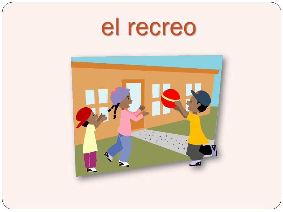 el recreo Recess