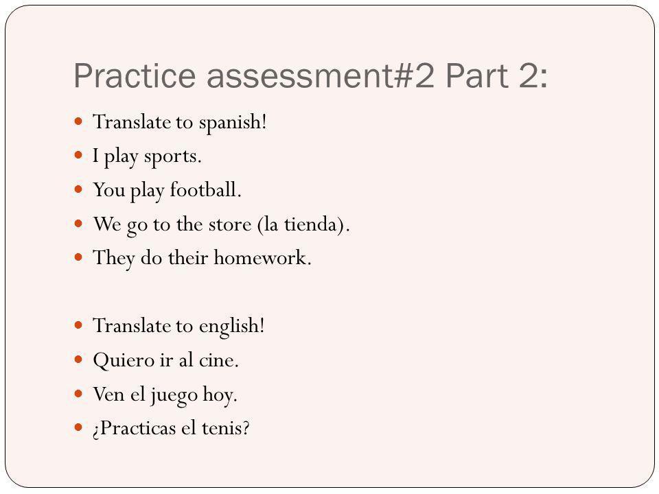 Practice assessment#2 Part 2: