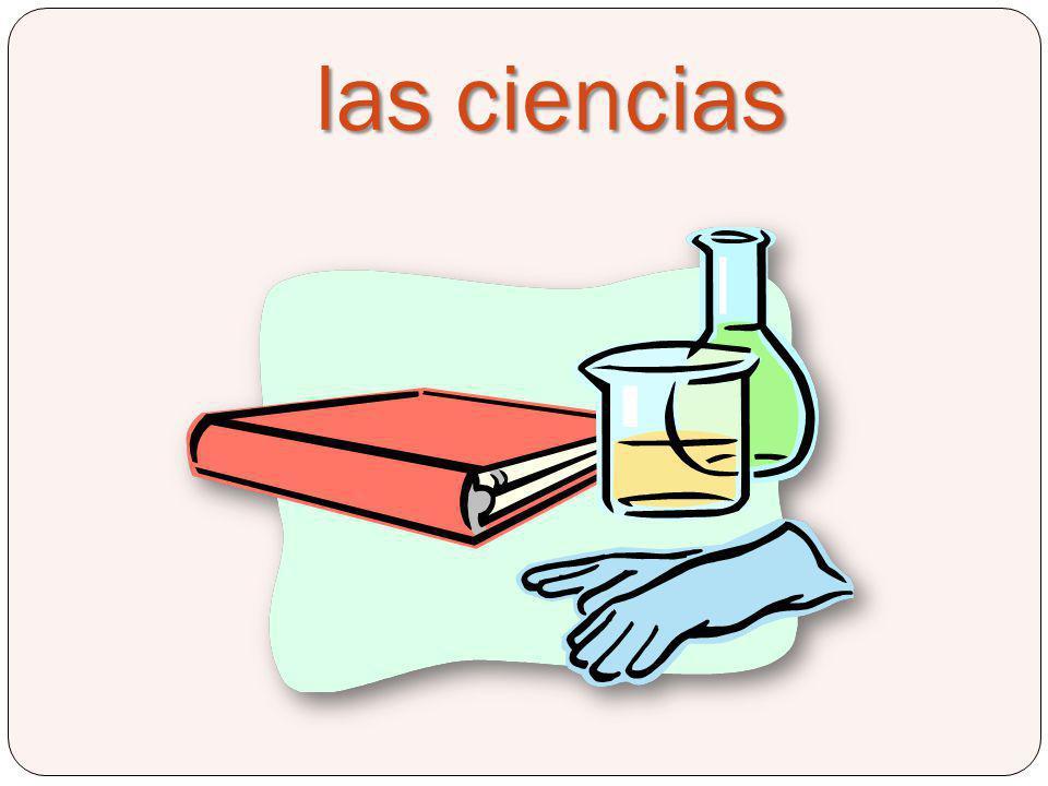 las ciencias Science